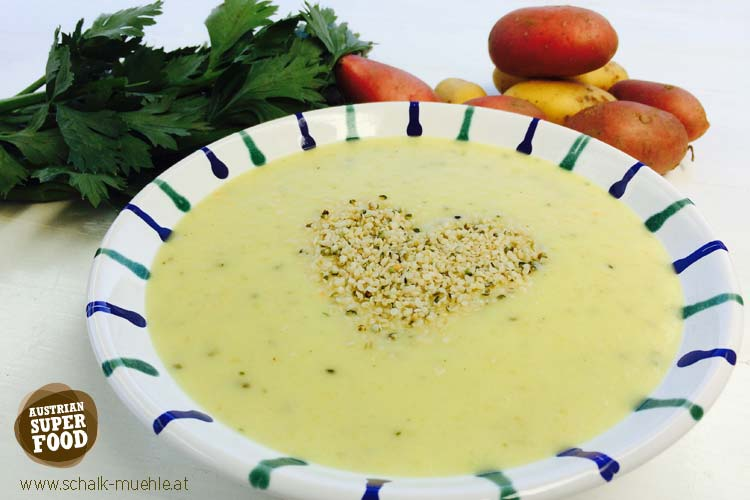 Kartoffel Creme Suppe
