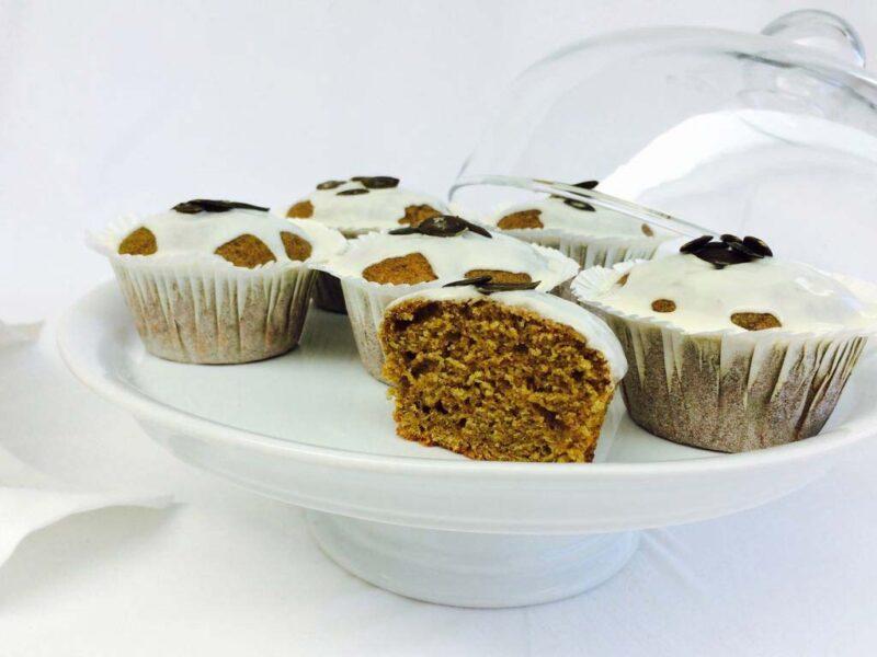 Kürbiskern Muffin