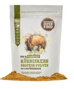 Kürbiskern Proteinpulver geröstet