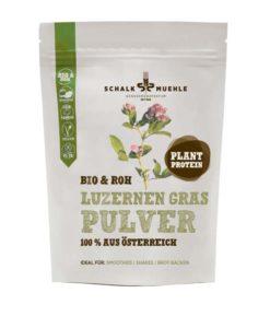 Luzernen Gras Pulver