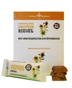 Sonnenblumenkern Protein Riegel