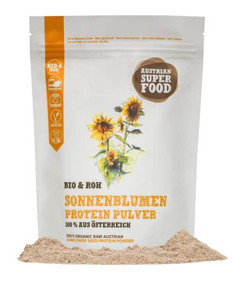 Bio Sonnenblumen Protein Pulver Roh