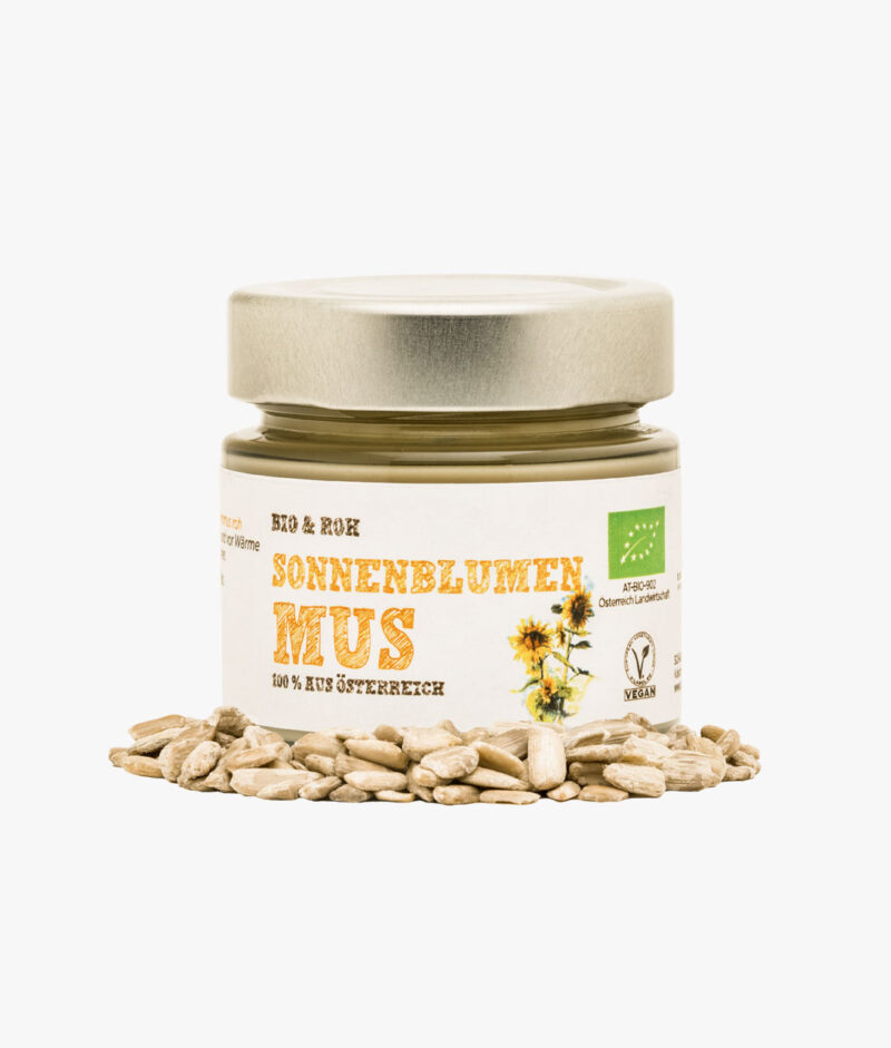 Organic & Raw Sunflower Seed Butter