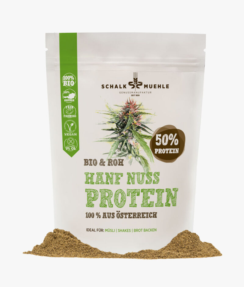 Organic & Raw Hemp Seed Protein Powder