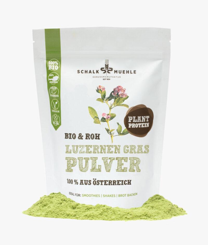 Bio & Roh Luzernengras Pulver