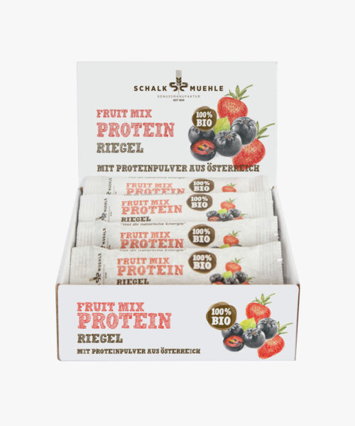 Fruit Mix Protein Riegel Box