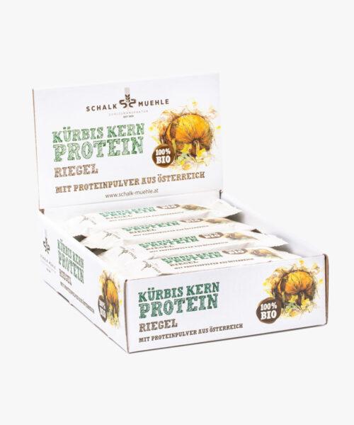 Kürbiskern Protein Riegel Box