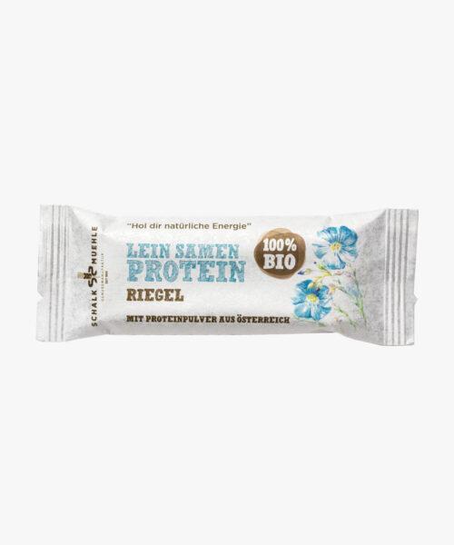 Leinsamen Protein Riegel