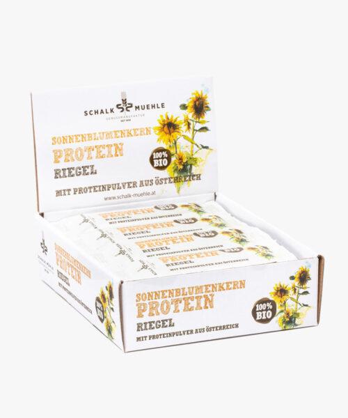 Sonnenblumen Protein Riegel Box