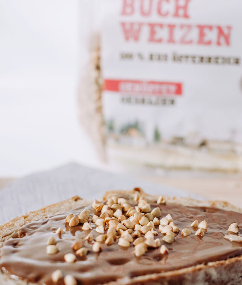 Organic & Toasted Buckwheat Snack