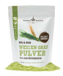 Weizengras Pulver