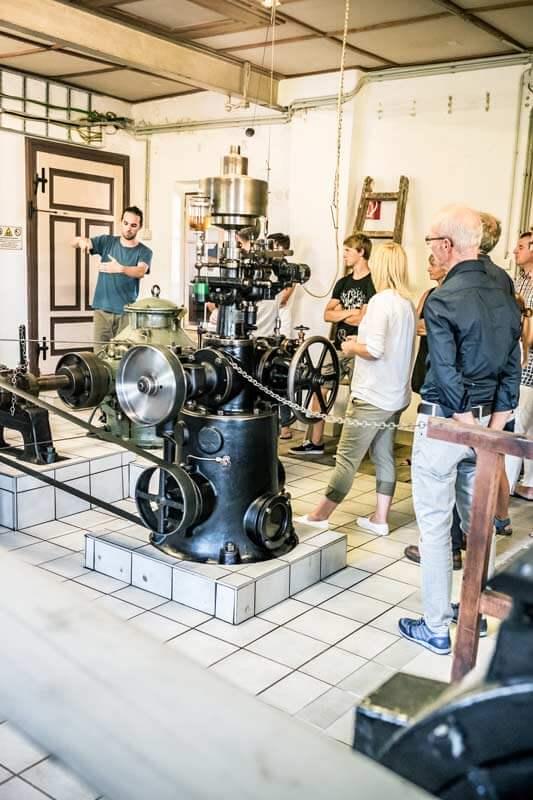 Wasserkraftwerkmuseum Genusstour