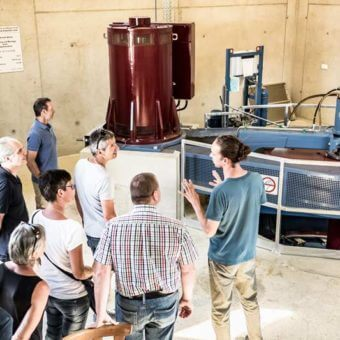 Wasserkraftwerk Genusstour Kaplanturbine